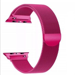 Apple 42/44 Replacement Watch Band Fuchsia NEW